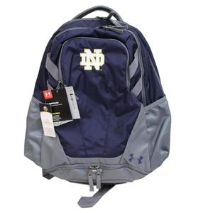 Notre Dame University UA Hustle Backpack $49 SALE!